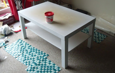 craftypainter: Ikea coffee table up-cycle
