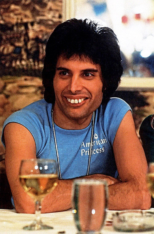 14 Freddie wrote the song    Crazy Little Thing Called Love    while    Freddie Mercury Teeth