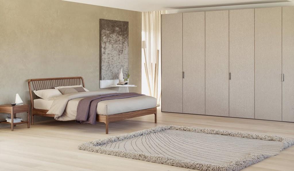 Dormitorio matrimonial colores claros