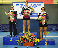Podio Absoluto individual femenino 2013