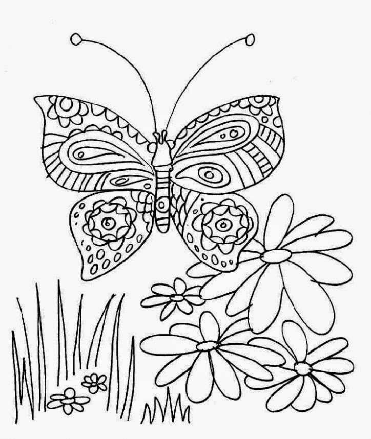 Butterflies for Coloring, part 6