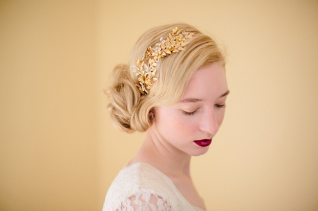 Peinados para invitadas - Peinado para boda de dia ...