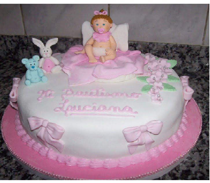 Modelos de tortas para bautizo de niñas - Imagui