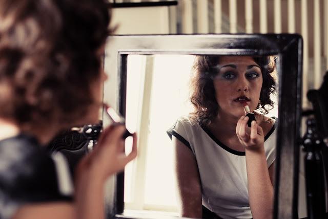 hollywood glamour styled shoot