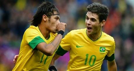 ������ ������ �������� ������� �� ����� 18-11-2014 Brazil vs Australia neymar-and-oscar-men