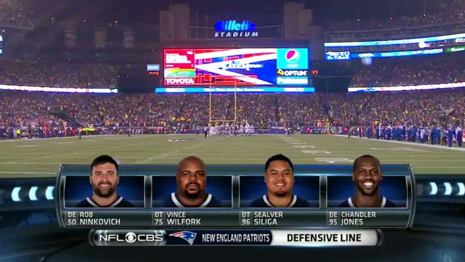 Patriots NFL defensa