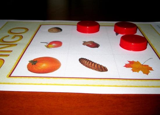bingo dla przedszkolaków do wydruku