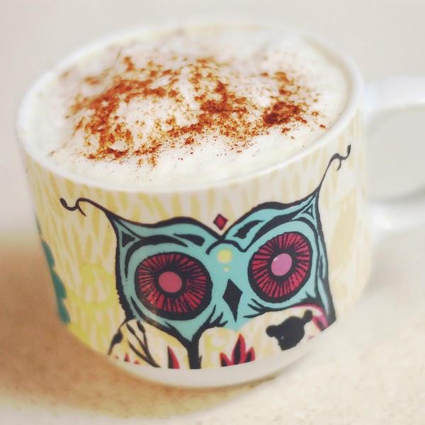 A Good Hue latte