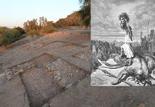 Gate of Goliath City discovered