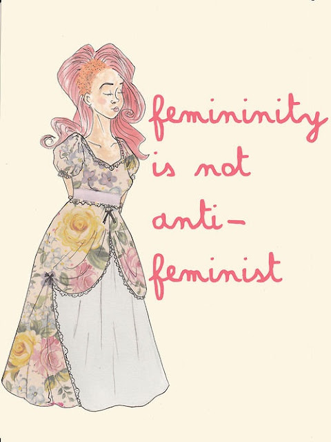 Femininity Is Not Anti-Feminist
