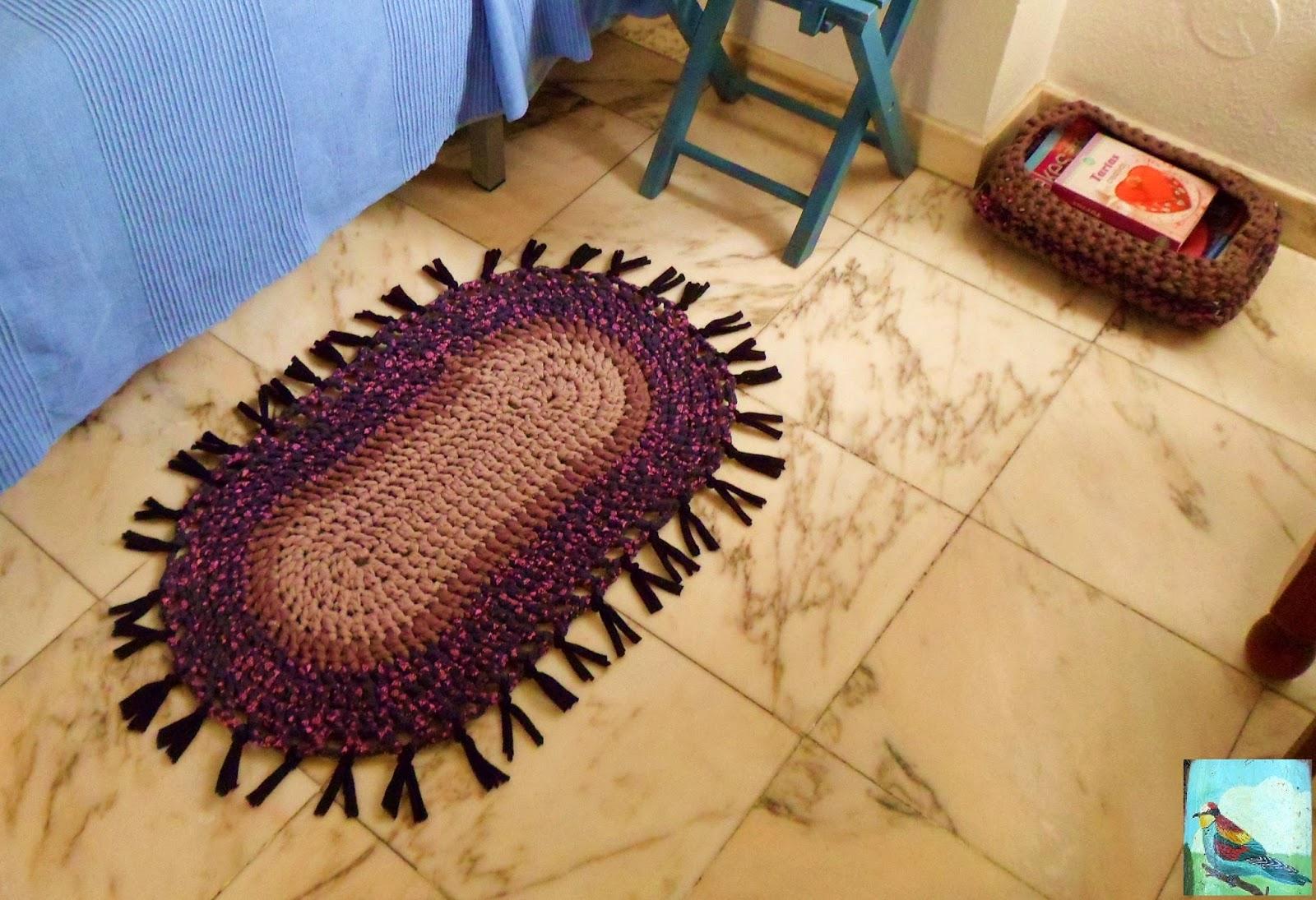 Alfombra de trapillo - Tutorial alfombra trapillo ...