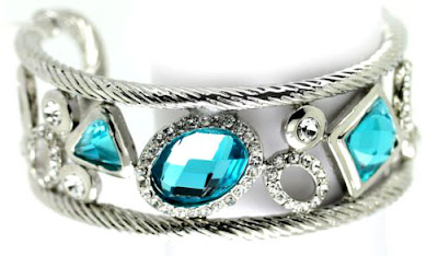 blue diamond stylish bangle
