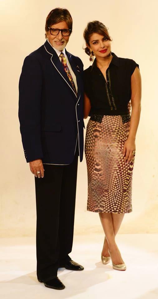 Priyanka Chopra at KBC to promote her upcoming movie 'Mary Kom'