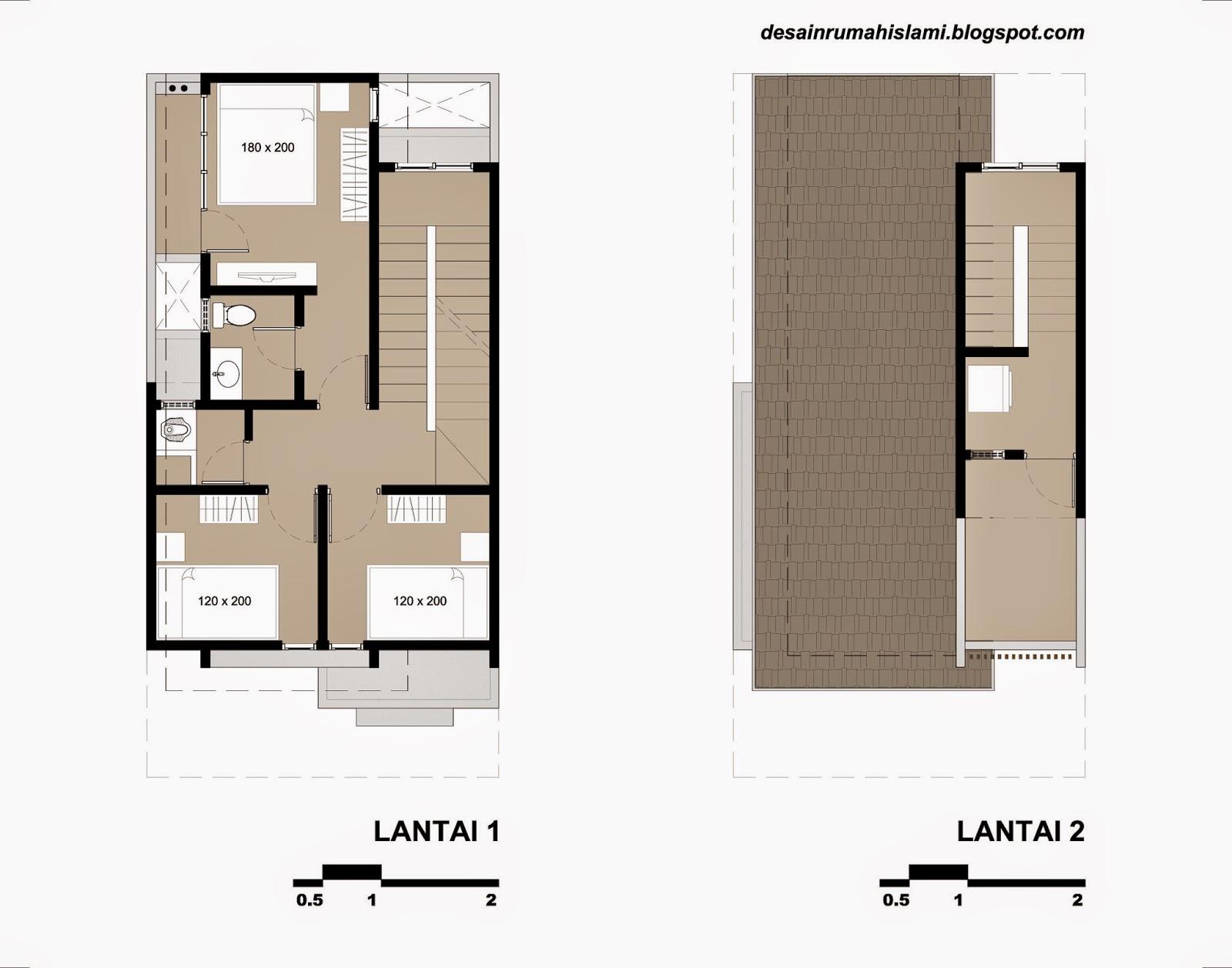 Jika Anda ingin menggunakan atau memodifikasi denah rumah ini anda bisa mendownload gambar CAD dari desain di atas melalui link di bawah ini.