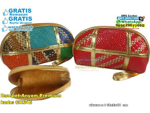 Dompet Anyam Premium