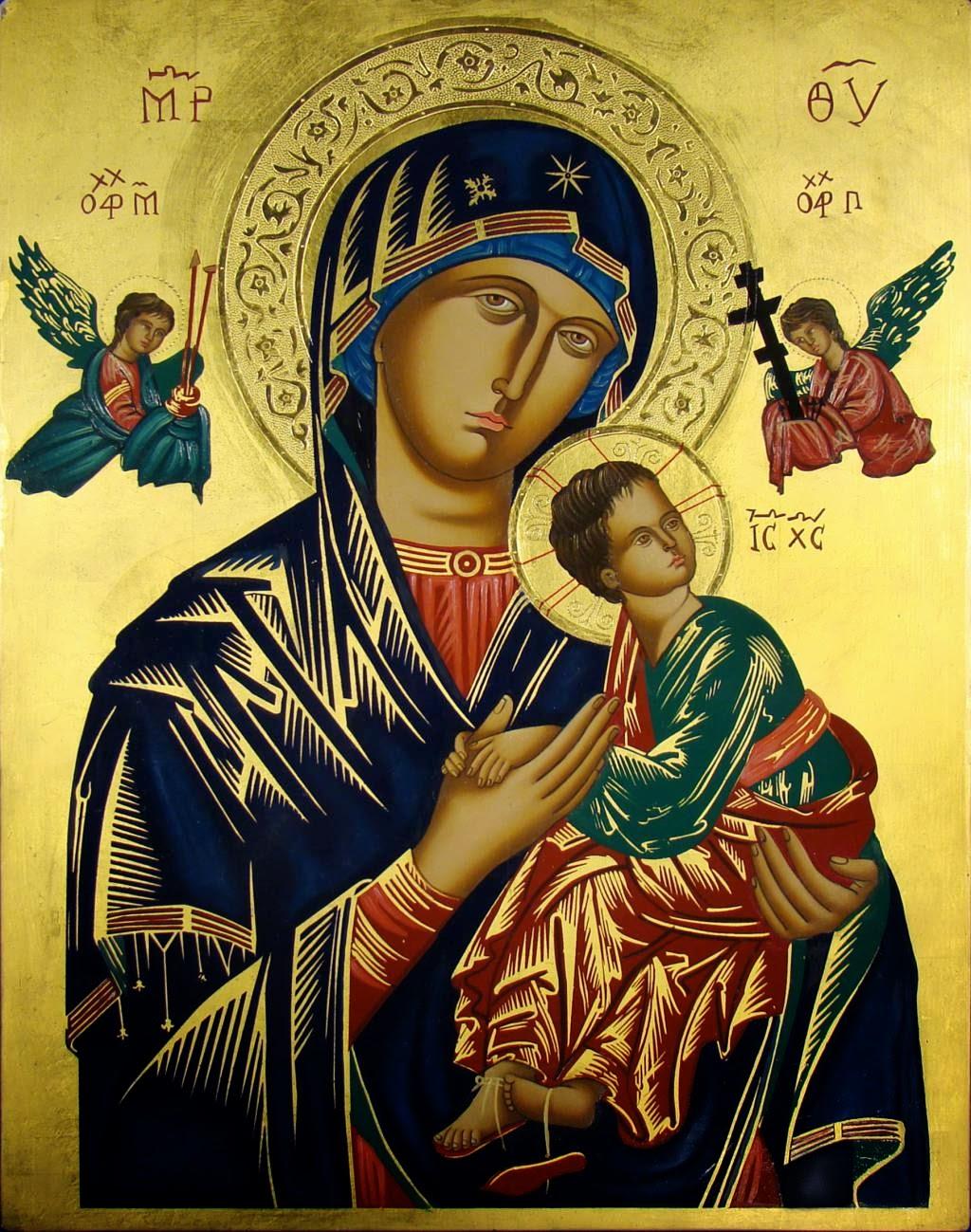 Nossa Senhora do Perpétuo Socorro, rogai por nós!