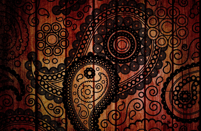 Wallpaper Batik Home Room Wall