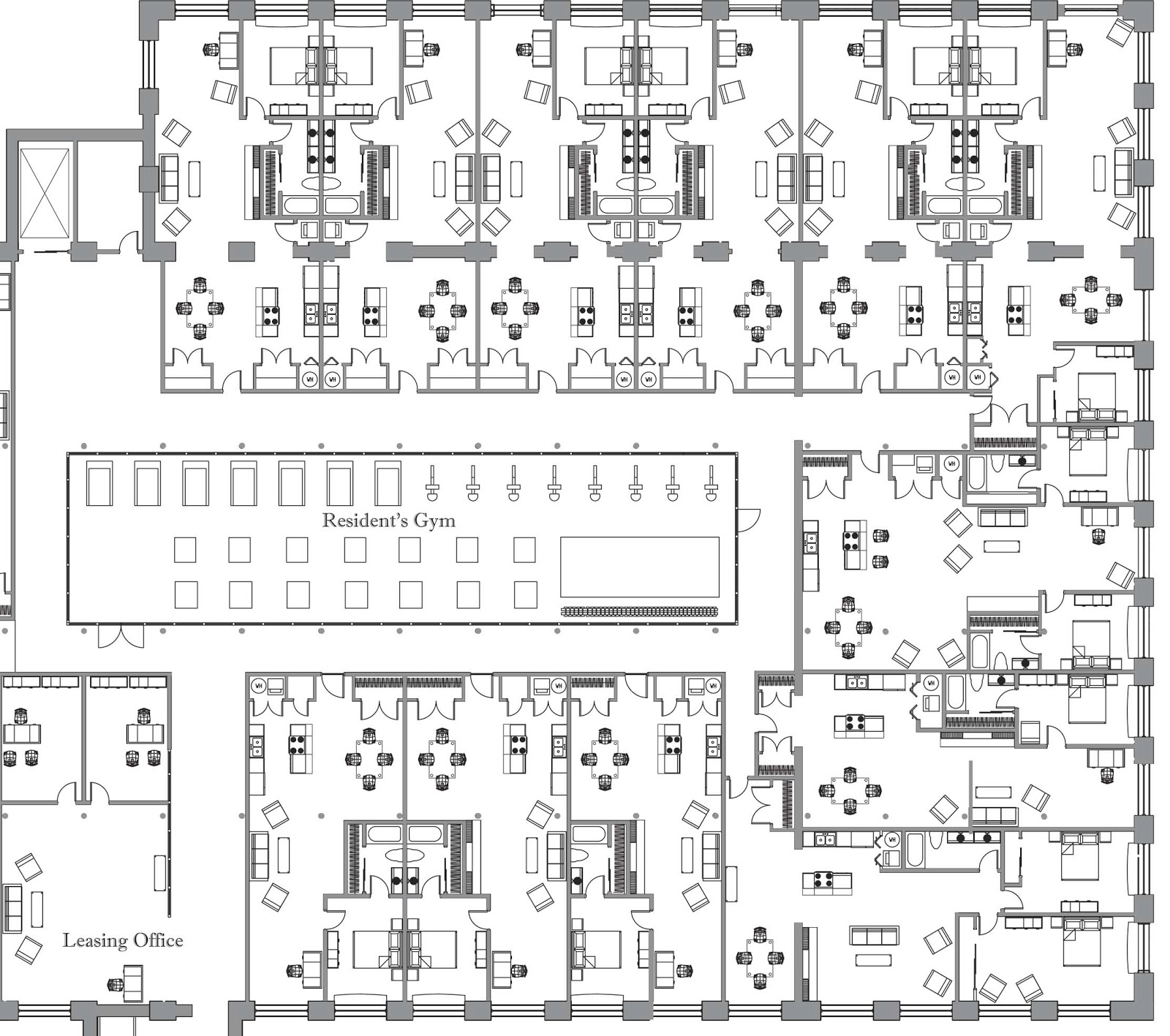 Designs by eileen for Gym floor plan examples