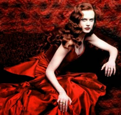 Nicole Kidman red dress in Moulin Rouge - Affordable Wedding Dresses - Red