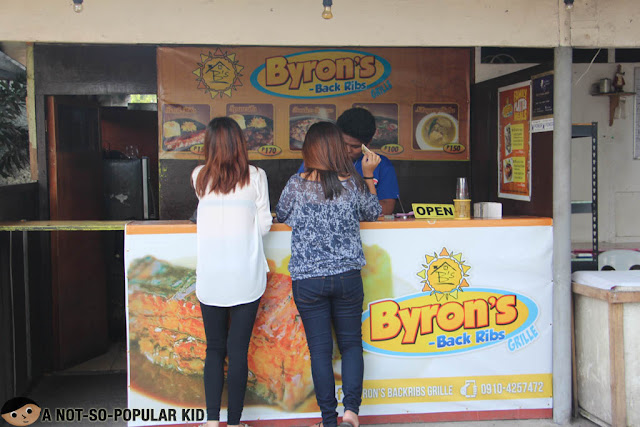 Byron's Back Ribs Grille in Food Park