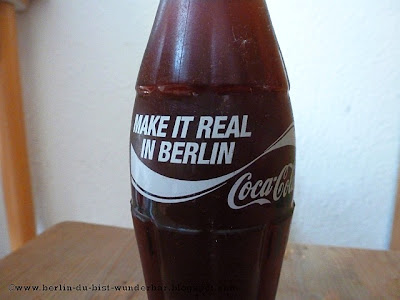 "Coca-Cola ""Make it real in Berlin"", flasche"