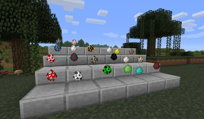 how to make a zombie egg in minecraft