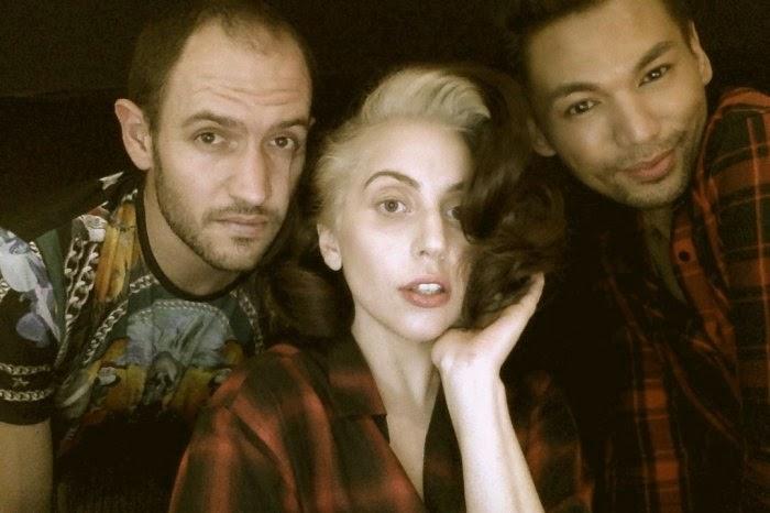 Bobby Campbell, Lady Gaga y Frederic Aspiras
