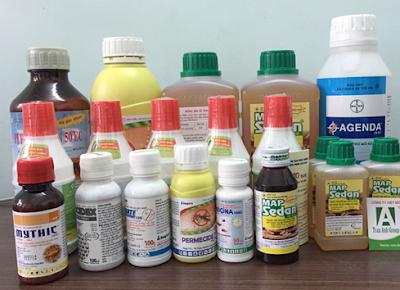 Danh mục thuốc diệt mối được phép sử dụng ở Việt Nam năm 2015
