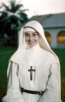 """Audrey Hepburn en """"Historia De Una Monja"""""""
