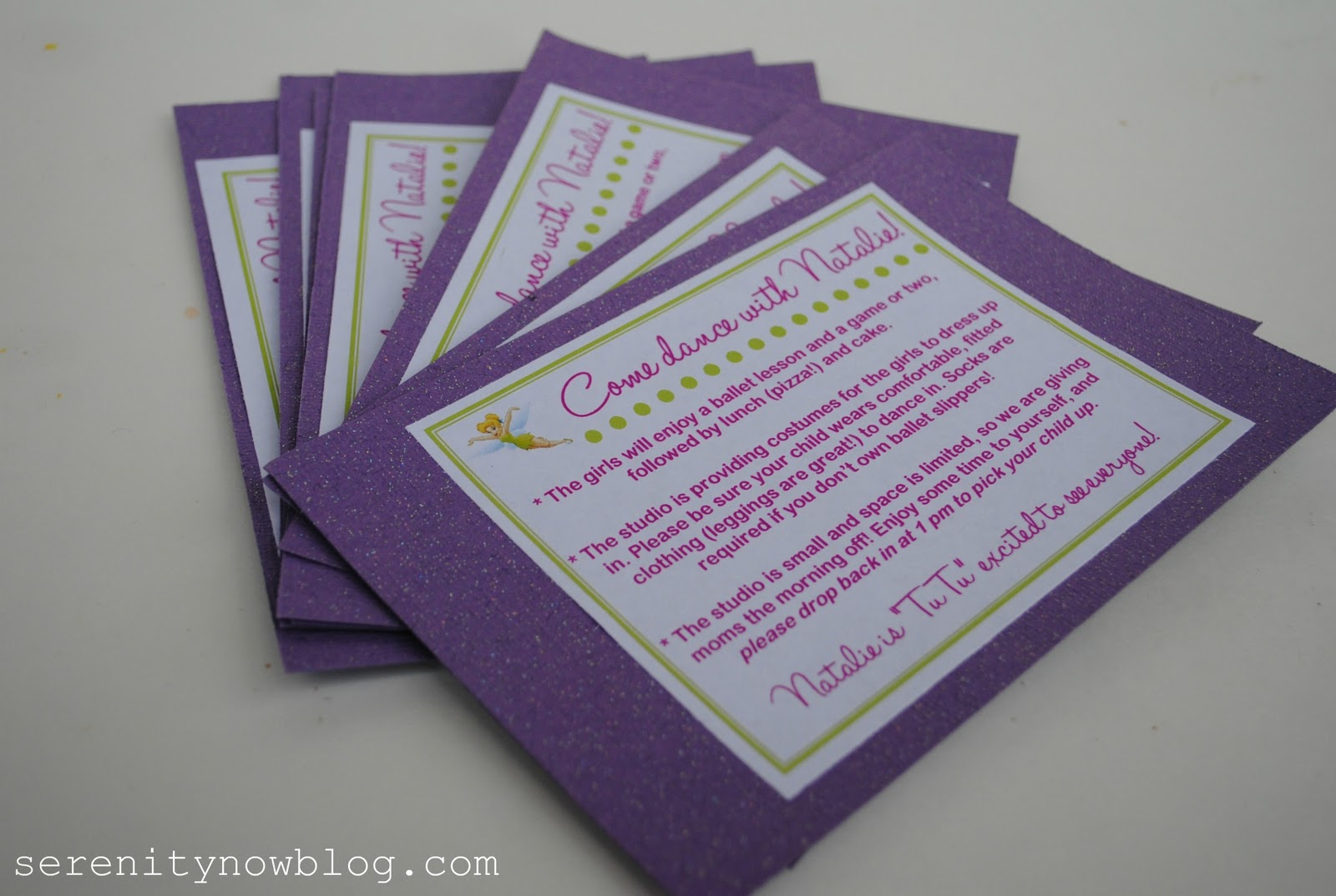 Serenity Now: Dressing Up Plain Party Invitations (DIY)