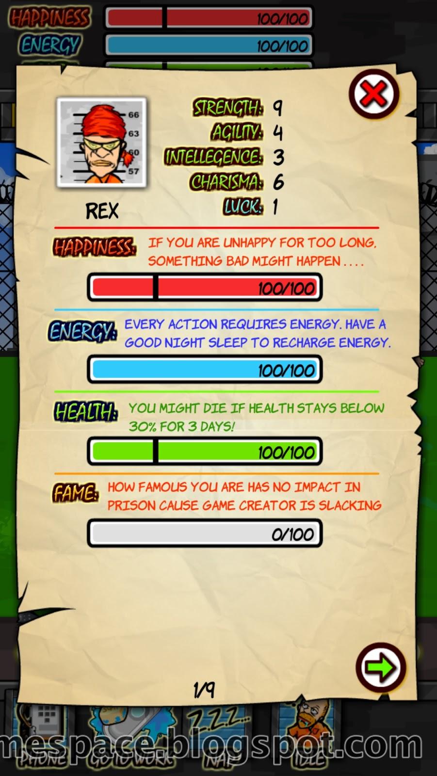 Prison Life RPG Frame