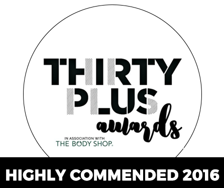 Thirty Plus Award Winner 2016