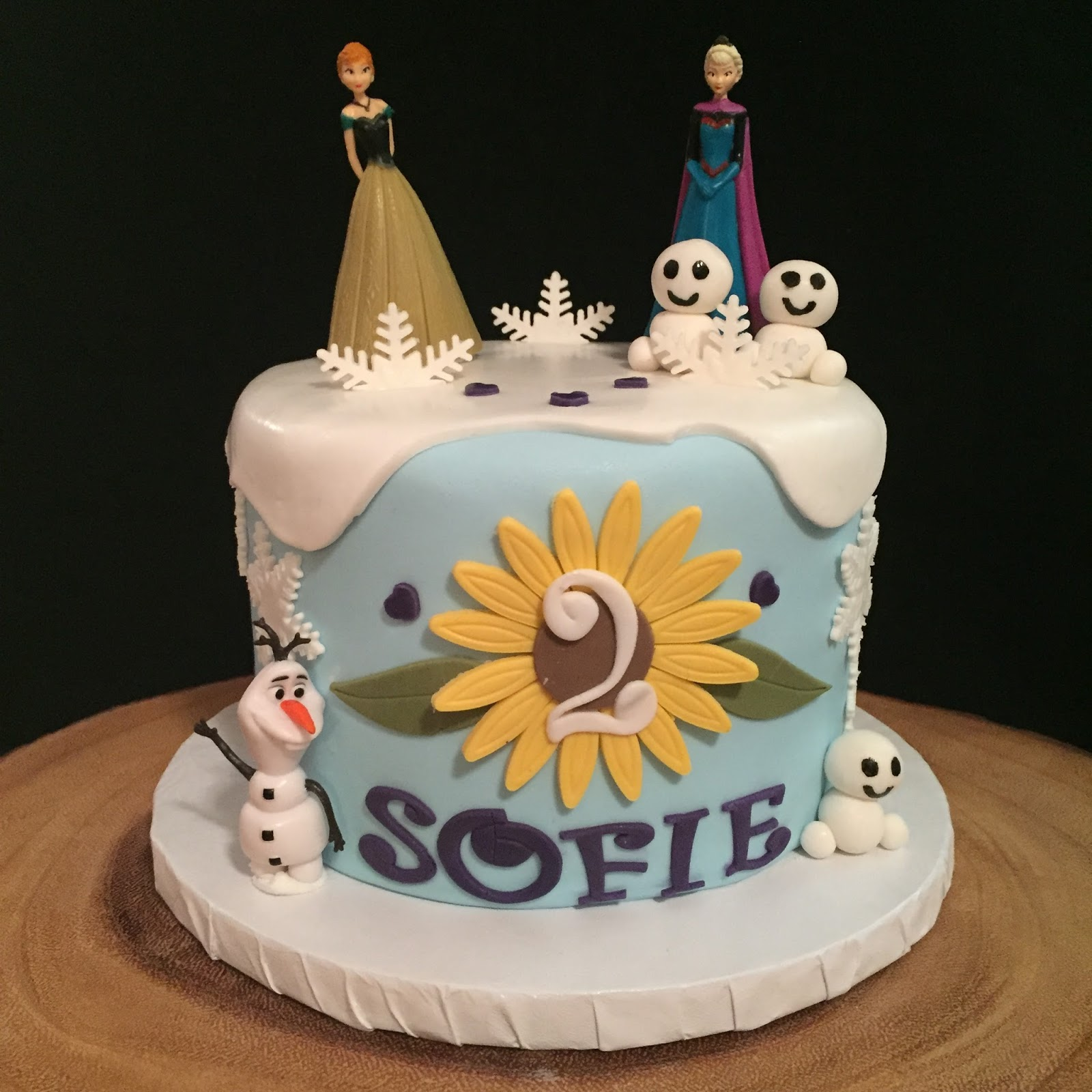 Frozen Fever Cakes