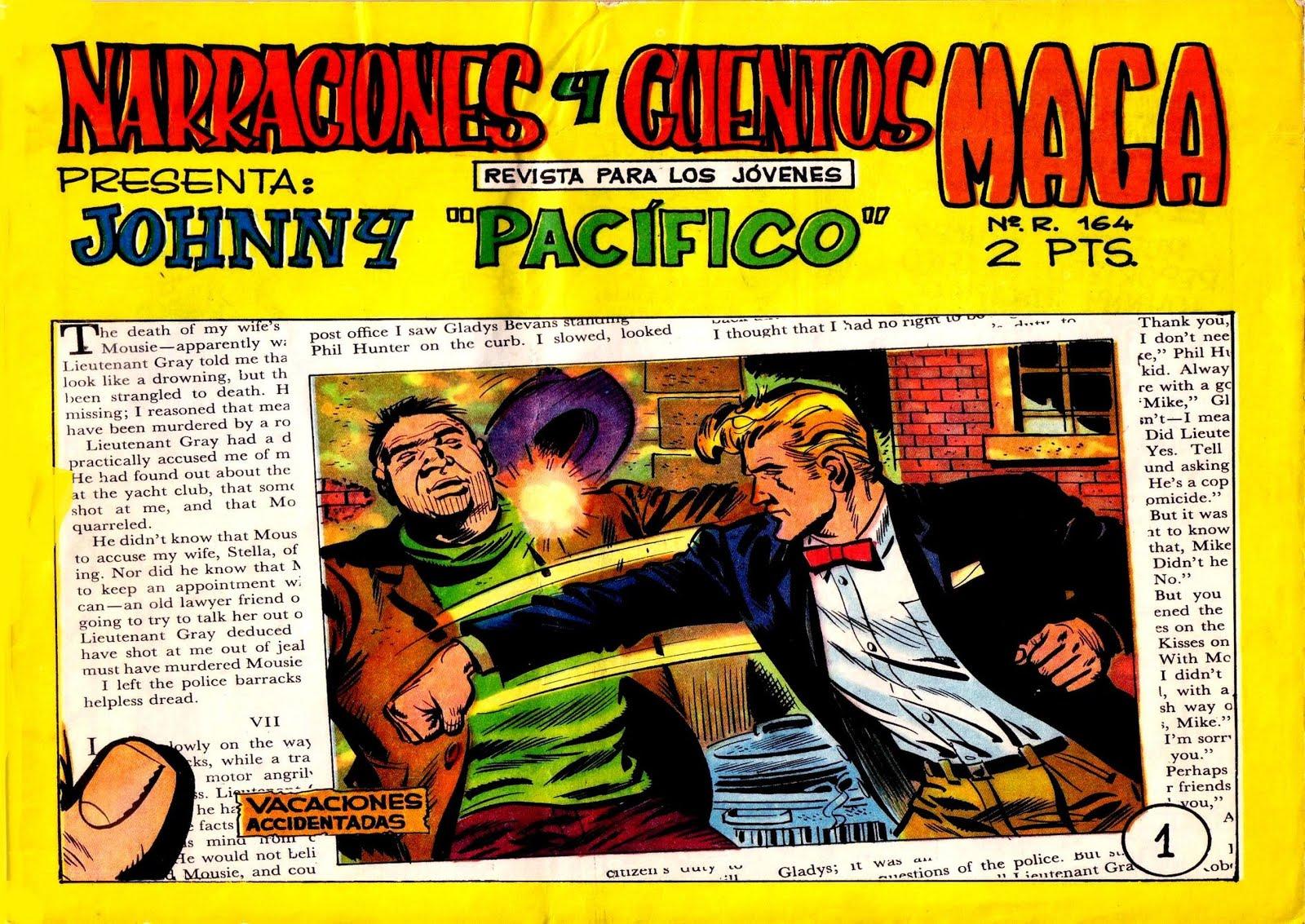 """Próximamente: Johnny """"Pacífico"""""""