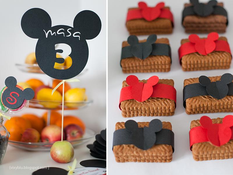 numar masa Mickey, Mickey Mouse, pachet petrecere copii Mickey
