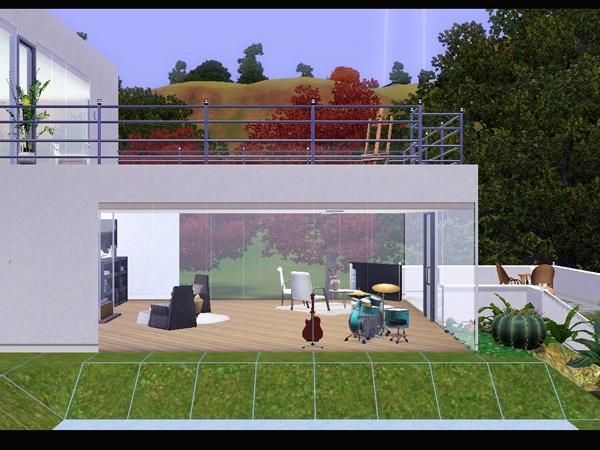Koalafolio Sims3 House LIVING DESIGN MOUND HOUSE THE SIMS 3