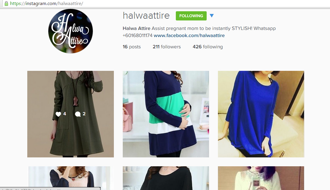 instagram halwa attire