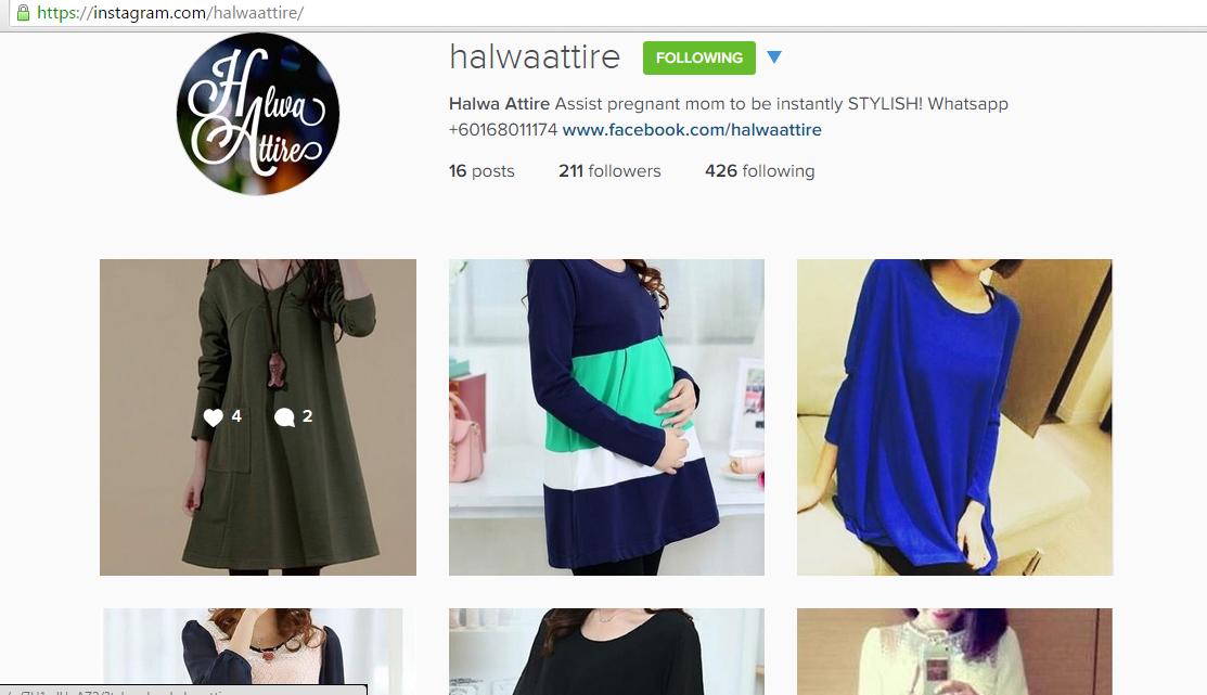 instagram halwa attire