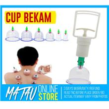 Cupping Cup Set With Vacuum - Set Bekam