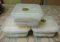 Kek Leleh @ RM5 (min.order 10 box)