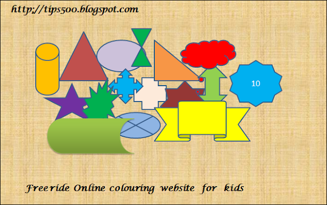 web color  pages  for  kids