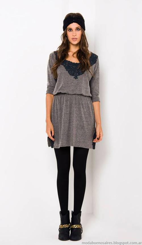 Doll Store otoño invierno 2014 moda mujer vestidos de invierno 2014..
