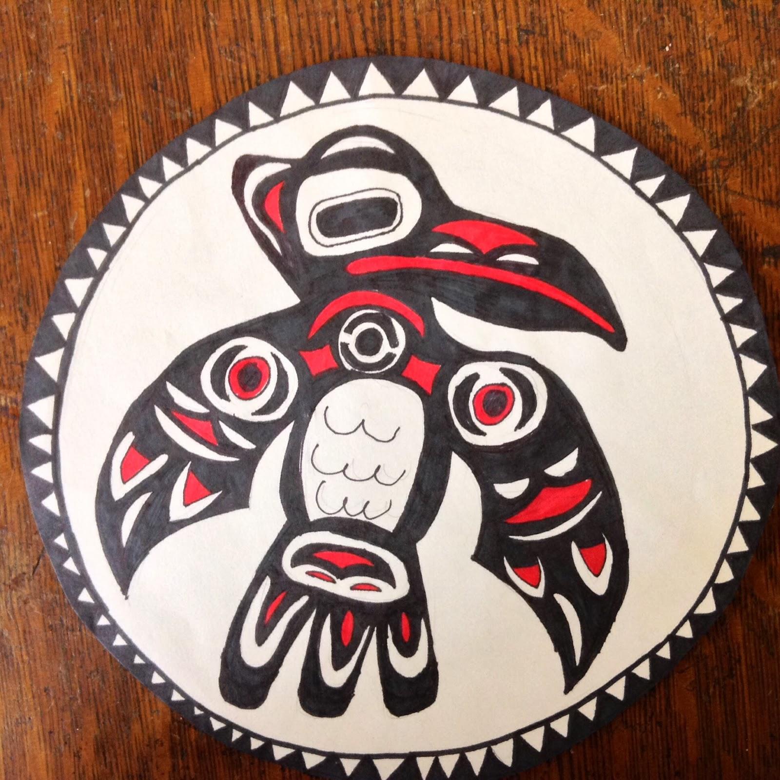 Artisan Des Arts Aboriginalnative American Inspired Art Grade 6