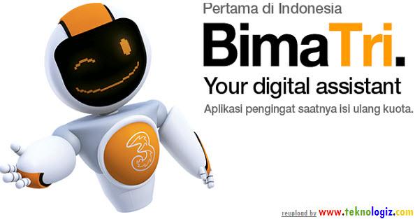 Bima Tri, layanan asisten pintar pengingat kuota internet - www.teknologiz.com
