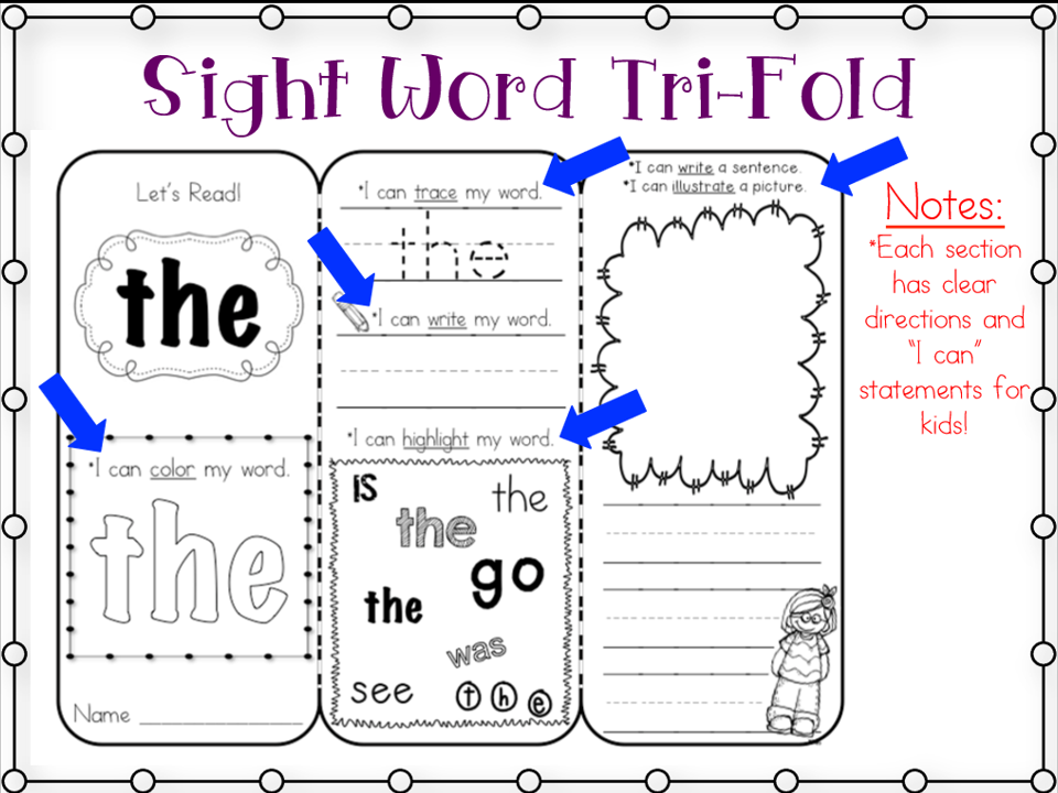 http://www.teacherspayteachers.com/Product/Sight-Word-Tri-Folds-First-100-Words-1151669