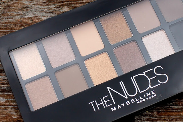 Maybelline The Nudes Eye Shadow Palette Urban Decay Naked dupe