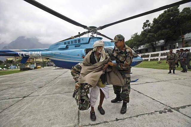 வெள்ள நிவாரணப் பணிகள்-கேதர்நாத்..படங்கள் இணைப்பு Floods.+Rescue+11