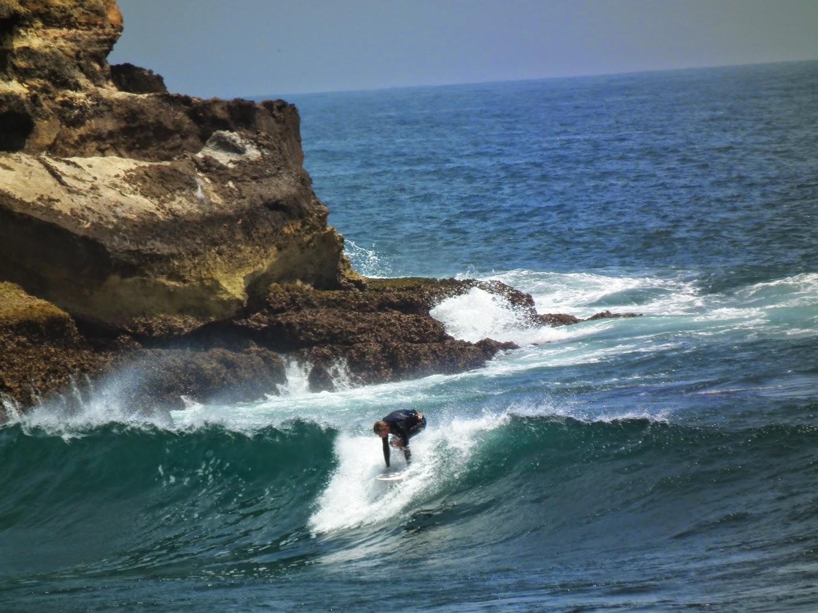 Wisata Pantai Watu Karung Pacitan Ari Blog