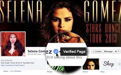 Facebook стартира потвърждаване за марки, фирми и лични профили