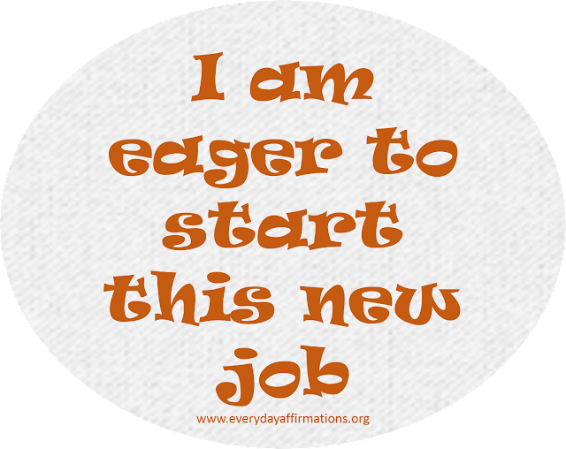 Affirmations for Jobs, job affirmations